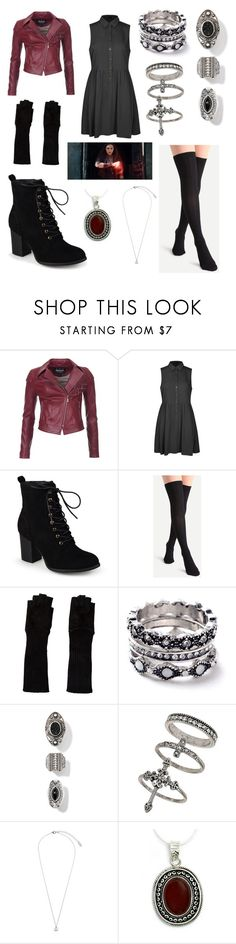 """""""Scarlet Witch Age Of Ultron"""" by trombone20 ❤ liked on Polyvore featuring Barbour International, Ally Fashion, Journee Collection, Alice + Olivia, WithChic, Miss Selfridge, Orelia and NOVICA"""