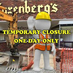 Due to heavy rains this morning we will not be able to open our Downtown store today.  The ongoing construction delay will not provide us access to the front of our store.  WE ARE PLANNING TO REOPEN TOMORROW!  We are sorry for any inconvenience this may cause.  For immediate help you can contact our Indiana Mall store at 724-465-5888 or email me at jwiddowson@luxenbergs.com.  Again we are sorry for this small hiccup in our improvement plans!  Luxenberg's... We want to be your Jeweler…