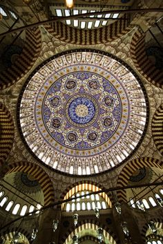 Dome of Selimiye Mosque, Edirne, Turkey by negeen - gorgeous