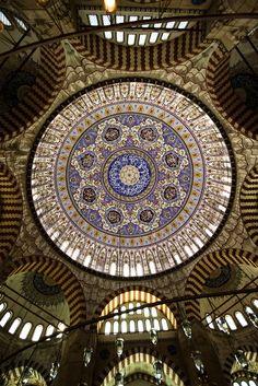 Dome of Selimiye Mosque, Edirne, Turkey by negeen
