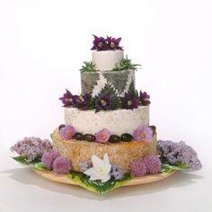 The Zennor Cheese Wedding Cake Cheese Platters, Love Cake, Flower Bouquet Wedding, Wedding Reception, Wedding Ideas, Perfect Wedding, Panna Cotta, Buffet, Wedding Cakes