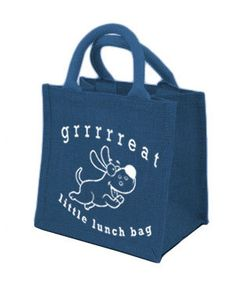 Little Lunch Bag Made from good quality Jute in by LittleLunchBag, $8.50