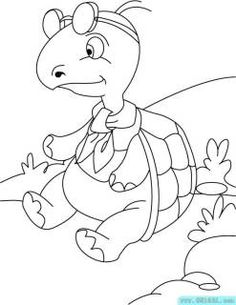 shapes turtle coloring pages - photo#24