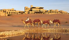 Qasr Al Sarab Desert Resort, Abu Dhabi, United Arab Emirates #JetsetterCurator