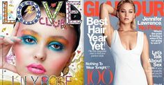 First Look at February's Hautest Covers  JLaw, Lily Rose, and More