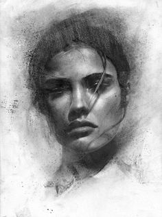 I've been restructuring everything lately on charcoal works, as well cleaning gently the dust off with a piece of cloth. Pencil Portrait Drawing, Pencil Art Drawings, Art Drawings Sketches, Portrait Art, Charcoal Portraits, Charcoal Art, Charcoal Drawing, Figure Sketching, Figure Drawing