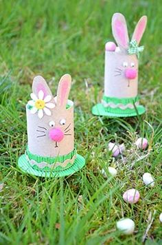 Voitures and bricolage on pinterest - Lapin rouleau papier toilette ...
