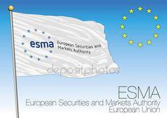 ESMA flag, European Securities and Markets Authority, European Union — Vettoriali  Stock © frizio #154038628