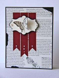 First Edition Butterfly by ladybugdesigns - Cards and Paper Crafts at Splitcoaststampers