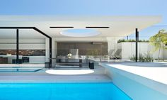 Modernist Home with Swimming Pool