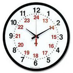 Military Time - How to tell Military Time? How does Military Time Work? What Time is it in Military Time? Teaching Clock, Teaching Time, 24 Hour Clock, Time Clock, Nursing Calculations, Volunteer Fire Department, Clock For Kids, What Time Is, First Job