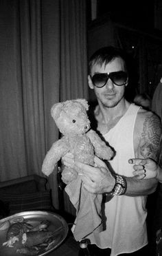 Shannon Leto - bad boy charm with a heart of gold <3 I'm in love.