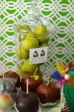 The Very Hungry Caterpillar, by Eric Carle Baby Shower Party Ideas   Photo 6 of 22   Catch My Party