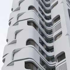 This is a Bauhaus blow-back. It's a building that's wearing it's favorite clothes from 1920.