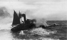 Lowestoft herring drifter
