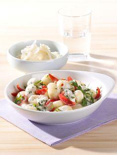 Gnocchi mit Rucola-Brunch-Sauce