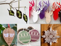 handmade tree decorations – mollie makes image
