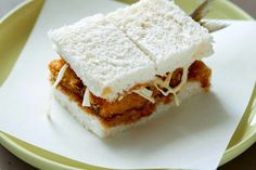 Try our katsu sandwich recipe with sardines. This Japanese sandwich is a twist on the classic chicken katsu sandwich recipe with Japanese tonkatsu sauce Katsu Sandwich Recipe, Sushi Sandwich, Easy Japanese Recipes, Japanese Dishes, Japanese Food, Blackened Cod Recipe, Albacore Tuna Recipes, Party Food Nibbles, Enoki Mushroom Recipe