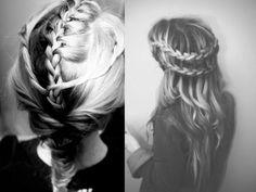 #Acconciatura #estate2013: la #treccia  http://www.veraclasse.it/articoli/bellezza/capelli/come-fare-la-treccia-a-spina-di-pesce/10568/