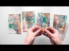 ColourArte - card tutorial/Открытки с чистого листа - YouTube