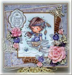 I�m back!! With a card for WOC Challenge