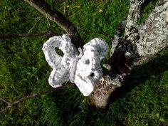 bebetecavigo.Mariposa crochet. bebetecavigo.