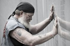 Vietnam veteran.     calvinmphoto.com  (Thank you, we will never forget)