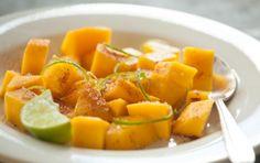 Mango Salad with Chile-Lime Salt // Garnish with freshly chopped mint, if you like! #recipe #summer #salad