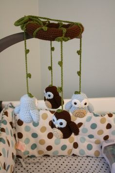 Comfort Creatures: Owls for Kyle...no pattern, she does reference the books that the patterns are in though
