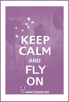 Flying is the best way to stay calm!