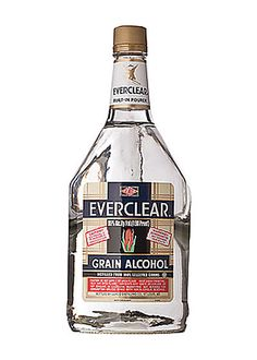 Everclear Grain Alcohol 190 Proof 1.75L