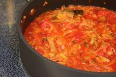 Leek Tomato Sauce
