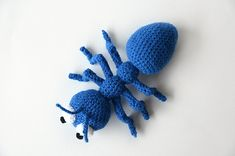 Andy the Ant - Insect Amigurumi - Animal Crochet - CROCHET PATTERN No.138
