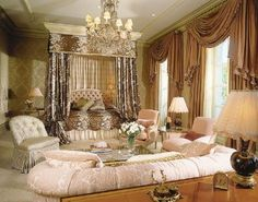 luxerious bedroom suites in castles and palaces | ... bedroom decorating ideas photo collections luxury bedroom furniture