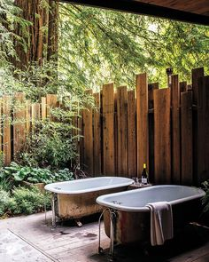 Excellent Cool Outdoor Bathroom Design Ideas With Cool Outdoor Bathroom Design Ideas. Trendy Cool Outdoor Bathroom Design Ideas With Cool Outdoor Bathroom Design Ideas. Cheap Cool Outdoor Bathroom Design Ideas With Cool Outdoor Bathtub, Outdoor Bathrooms, Outdoor Showers, Big Sur Cabin, Outdoor Spaces, Outdoor Living, Best Bathtubs, Backyard Fences, Rustic Outdoor