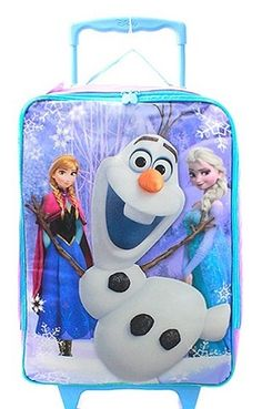 ☆ $34.95 ★ Frozen Pilot Luggage Case With Top Handle