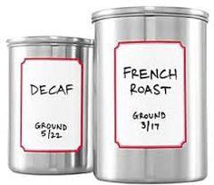 Dry erase labels