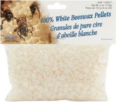 Beeswax Pellets 4oz-White *** Additional details @ http://www.amazon.com/gp/product/B004BPO9NE/?tag=homeimprtip08-20&ij=160716033125