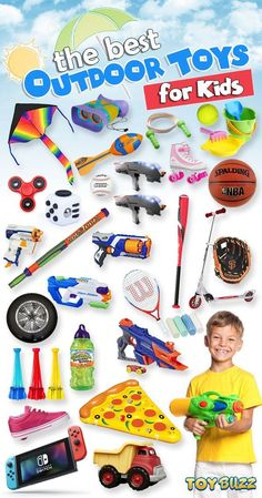 Looking for outdoor fun? Explore hundreds of outdoor toys to get your kids active and having some fun in the sun. Perfect gifts for boys and girls. Let the fun and games begin! #giftguide #outdoortoys #birthdaygifts #christmasgifts #giftideasforkids