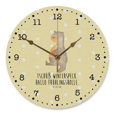 30 cm Wanduhr Otter Bauch aus MDF  Weiß - Das Original von Mr. & Mrs. Panda.  Diese wunderschöne Uhr von  Mr. & Mrs. Panda wird liebeveoll in unserem Hause bedruckt und an sie versendet. Sie ist das perfekte Geschenk für kleine und große Kinder, Weltenbummler und Naturliebhaber. Sie hat eine Grösse von 30 cm und ein absolut LAUTLOSES Uhrwerk.    Über unser Motiv Otter Bauch  Die wunderschönen Otter von Mr. & Mrs. Panda sind wirklich etwas ganz Besonderes und natürlich mit besonders viel…