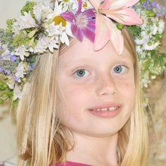 Flower crown. Alison Buck Floral Design