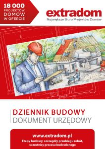 Projekt domu Heliodor As - murowana – beton komórkowy - koszt budowy - EXTRADOM Modern Bungalow Exterior, Bungalow House Design, Modern Farmhouse Exterior, Home Design Plans, Plan Design, Morden House, One Storey House, Brick Siding, Concept Home