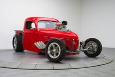 custom hot rod designs | 1938 Willys Pickup | RK Motors