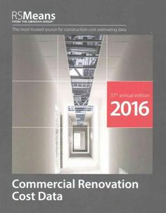 RSmeans Commercial Renovation Cost Data 2016