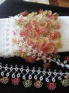 Tatting Armband, Tatting Bracelet, Tatting Jewelry, Needle Tatting, Tatting Lace, Irish Crochet, Crochet Motif, Knit Crochet, Tatting Tutorial