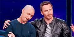 2015 San Diego Comic-Con (with James McAvoy)