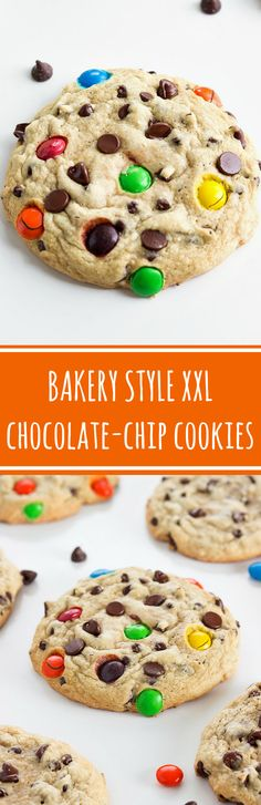 These are tried and true family-favorite chocolate-chip XL bakery style cookies with two secret ingredients, no wonder they are the best! RAVE reviews from commenters
