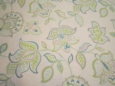 Pillow Covers, Table Runners, Placemats - Aqua, Aquamarine, Teal Blue, Gray, Lime Green - ITEM CHOICE - Made to Order