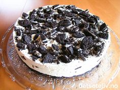 Oreo iskake Pudding Desserts, Oreos, Sorbet, Popsicles, Camembert Cheese, Nom Nom, Cupcake, Food And Drink, Ice Cream