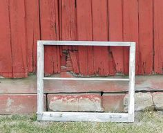 Vintage 2 Pane Window Frame,Antique, Distressed,Original Hard Ware Home Decor,Wedding Decor,Crafts,No Glass by Incredibletreasures on Etsy